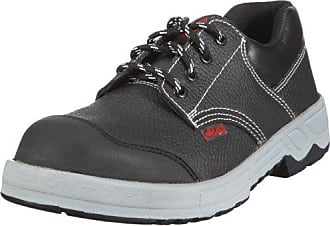Lico Safety 750005 - Calzado de protección de ante para hombre, color gris, talla 46