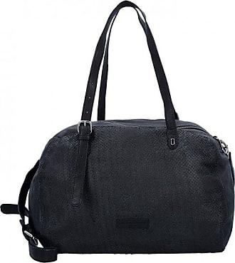 Liebeskind Yonkers Sac à main porté épaule cuir 40 cm oil black