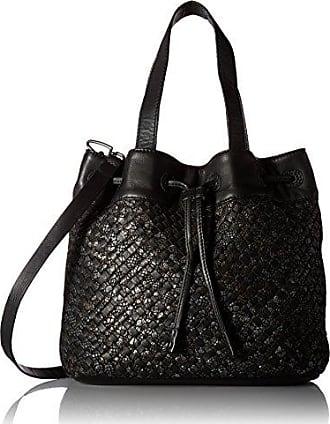 liebeskind Verdon Marivi, femme Sacs portés épaule, (Black), 15x39x35 cm (B x H x T)