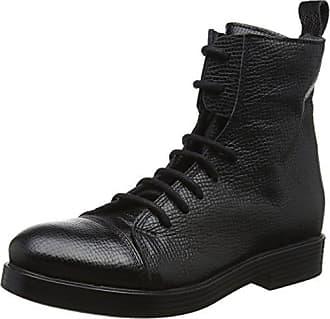 6436, Santiags Femme - Noir - Noir (Nero ner), 40 EULilimill
