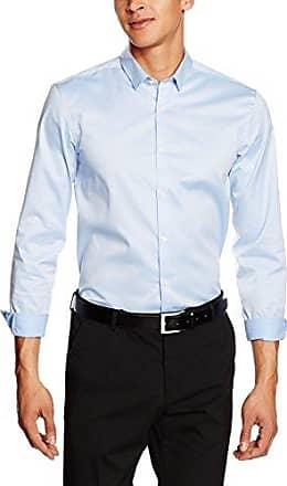 Oxford Shirt L/s - Chemise de Loisirs - Homme - Gris (Sablonneux) - Taille: LLindbergh