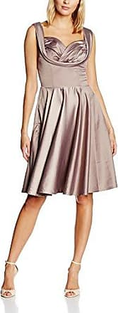 Womens Ophelia Mink Grey Dress Lindy Bop