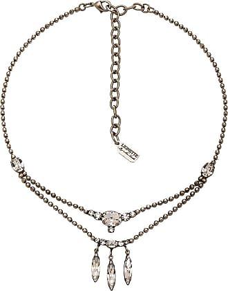 Lionette by Noa Sade Swarovski Crystal Ofir Choker in Metallic Silver