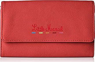 Womens Id18-lm-red Wallet Red Red Little Marcel