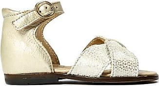Sale - Diana Cross Leather Bow Sandals - Little Mary Little Mary