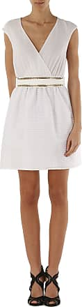 Dress for Women, Evening Cocktail Party On Sale, White, polyester, 2017, 10 12 14 8 Liu Jo