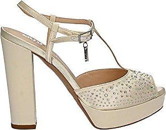 Liu-Jo S17049E0380 Sandalen mit Absatz Frauen Silber 35