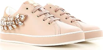 Sneakers for Women On Sale, antique pink, Leather, 2017, 3.5 4.5 Liu Jo