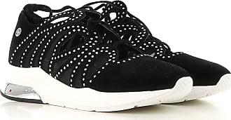 Zapatillas Deportivas de Mujer, Deportivas Baratos en Rebajas, Negro, Gamuza, 2017, 38 Liu Jo