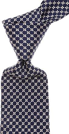Ties On Sale, Bright Navy Blue, Silk, 2017, one size LIVERANO & LIVERANO