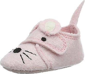 Haflinger Ahoi, Zapatillas de Estar por Casa Unisex Bebé, Gris (Steingraumeliert), 20 EU