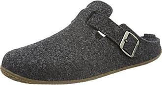 Walkpantoffel mit Fußbett Hohe Salve - Pantuflas Unisex Adulto, Color Gris, Talla 46 Living Kitzbühel