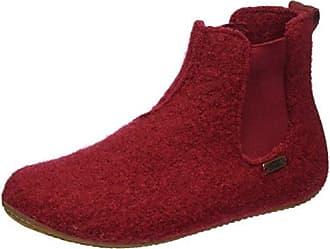 Living Kitzbühel Boots Chelsea, Zapatillas de Estar por Casa Unisex Niños, Rojo (Rubin 389), 34 EU