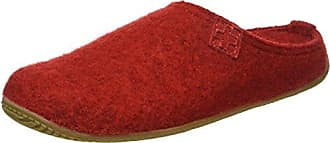 Living Kitzbühel Damen Pantoffel Pantoffeln, Rot (Rot 350), 37 EU