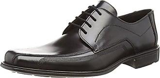 Lloyd Noren, Zapatos de Cordones Oxford para Hombre, Schwarz (Schwarz 0), 48 EU