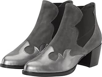 Original Marines Damen Stiefel  Stiefeletten Grau Grau 36