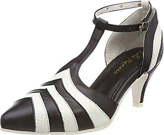 Kitten, Zapatos de Tacón con Punta Cerrada para Mujer, Negro (Black 22), 41 EU Lola Ramona