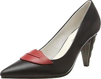 Alice, Zapatos de Tacón con Punta Cerrada para Mujer, Negro (Black 22), 41 EU Lola Ramona