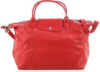 Tote Bag On Sale, Orange, Leather, 2017, one size Longchamp