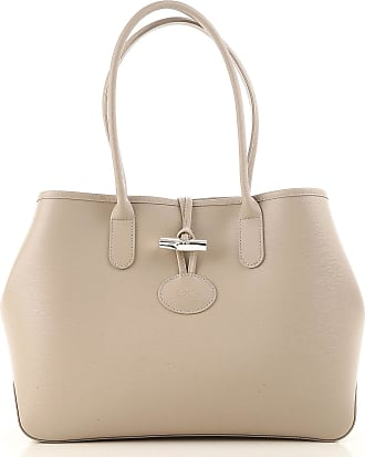 Handbags On Sale, sunshine, Leather, 2017, one size Longchamp