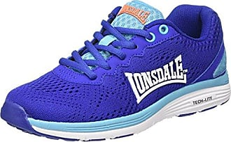 Zambia, Chaussures Multisport Outdoor Femme, Bleu (Blue/White), 37 EULonsdale