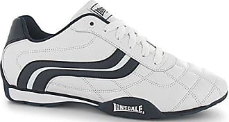 Herren Sneaker One Size, Mehrfarbig - Weiß/Schwarz - Größe: 43 EU Lonsdale