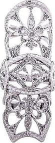 Loree Rodkin Double Royal Fleur-de-Lis Ring in Metallics