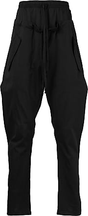 double-waist trousers - Black Lost And Found Rooms