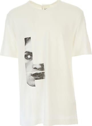 T-shirt Homme Pas cher en Soldes, Blanc, Coton, 2017, SLost & Found