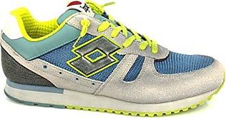 S2981 Sneakers Herren Gewebe Grau 45 Lotto