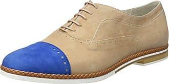 Lottusse S9614, Zapatos de Cordones Oxford para Mujer, Blanco (Sugar Blanco), 35 EU