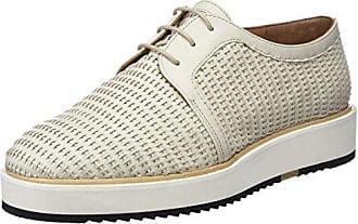 TOOGOO (R) NUEVOS zapatos de gamuza de cuero de estilo europeo oxfords de los hombres casuales 999 Marron(tamano 39)