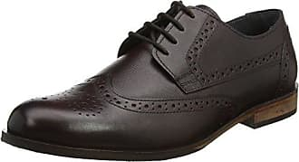 Lotus Henderson, Zapatos de Cordones Oxford para Hombre, Marrn (Brown), 42 EU