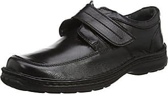 Lotus 8651 - Zapatillas de Piel Hombre, Color Negro, Talla 41
