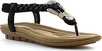 Lotus Öffnen Sie zurück Sandale im Gold mit Zopf für Frauen durch Größe 3 UK/35.5 EU - Mehrfarbig