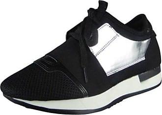 Damen Laufen Trainer Fitness Fitnessstudio Licht Pumps Schnüren Schuhe Größe 39