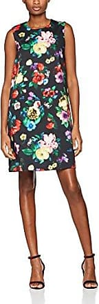 Kleid, Robe Femme, Multicolore (WSWHT-FX-STRPS 4115), 42 (Taille Fabricant: 44)Love Moschino