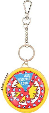 Womens JC5403 Keyrings and Keychains, Multicolor (Gold/Red), 2x10x4 cm (B x H x T) Love Moschino