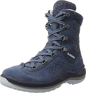 Locarno GTX Qc, Botas de Senderismo para Mujer, Azul (Navy/Mandarine 6912), 39.5 EU Lowa
