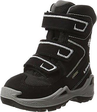 Lowa - Chaussures montantes de randonnée et de trekking Rufus III GTX Hi - Unisexe - Pour enfants - Vert - Grün (Petrol/Orange), 25 EU