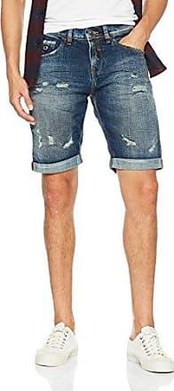 Leom, A 565, Shorts para Hombre, Azul (shiny dark blue 034), 46 (Taglia produttore: 30) Cross Jeanswear