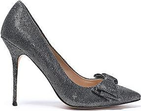 Lucy Choi London Woman Bow-embellished Sequined Leather Pumps Black Size 41 Lucy Choi London
