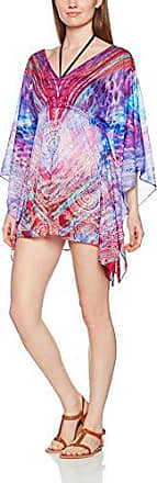 Luli Fama Amanecer Caftan Dres, Tunique de Plage Femme, Multicolore (Multicolor), Taille Unique (Taille Fabricant: O/S)