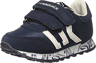 Lumberjack Smash, Zapatillas para Niños, Azul (Navy Blue CC001), 24 EU