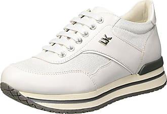 Like, Sneaker Donna, Argento (White/Silver), 37 EU Lumberjack