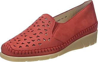 Luxat Harpade, Mocasines para Mujer, Rojo, 41 EU