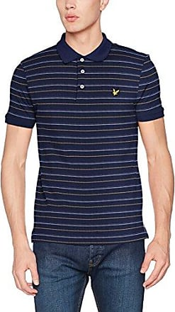 Lyle & Scott Pick Stitch, Polo Homme, (Navy Z99), L