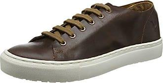 Lyle & Scott Alford Leather, Baskets Homme, Marron (Cognac Z63), 45 EU