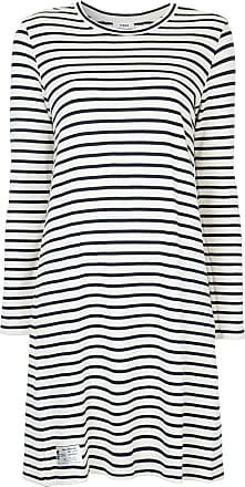 Dinny striped midi dress - Nude & Neutrals Mads Norgaard