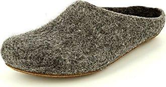 MagicFelt AT 719, Unisex-Erwachsene Pantoffeln, Grau (Steinschaf 4850), 44 EU (9.5 Erwachsene UK)